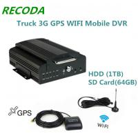 Wholesale Hard Disk Truck 3G Mobile DVR Wifi Mdvr Support 1TB Hdd And 64GB Sd Card from china suppliers
