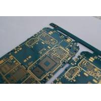 Wholesale 1 oz copper thickness cell phone pcb board 2-layers FR-4 base , Min. Line 0.12 mm from china suppliers