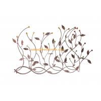 Wholesale Beautiful Design Metal Leaf  Acrylic Decoratived Wall Art For Home Decor from china suppliers