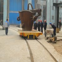 Wholesale Steel plant ladle electric rail transfer trolley for heat ladle transfer from china suppliers