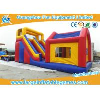 Wholesale Durable Commercial Inflatable Slide With House / Outdoor Inflatable Kids Slide With Professional Design from china suppliers