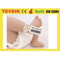 Wholesale Hospital disposable medical rfid  wristband for newborn baby identification from china suppliers