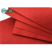 Wholesale PES Needle Punch Felt Fabric Needle Punch Nonwoven For Decoration / Carpet from china suppliers