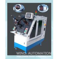 Buy cheap Induction motor pump winding and wedge insertion machine with servo system install coils and wedge from wholesalers