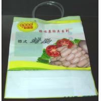Wholesale Colorful Plastic Shopping Bag Loop Handle Bags For Sausage ,  Vegetables from china suppliers