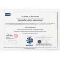 Yangzhou Xinfly Inflight & Travel Supplies Co,.Ltd Certifications