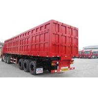 Wholesale Hydraulic Cylinder Heavy Duty Dump Truck Trailer 3 Axles For Sand Stone Transportion from china suppliers