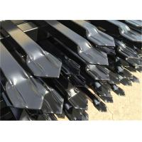 Buy cheap Stain Black Powder INTERPO High Security Fence Panel 2100mm*2400mm from wholesalers