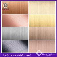 Wholesale SUS 201 304 satin no.4 brushed finished stainless steel plate buy from factory direct from china suppliers