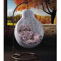 Wholesale Rattan swing chair hanging chair patio swing egg chair swing from china suppliers