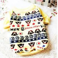 Quality hot sale printed dog clothes for sale