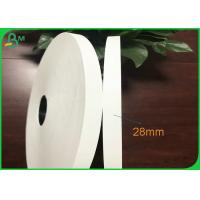 Wholesale Food Grade 27mm 32mm 35mm 28gsm Plain White Cigarette Rolling paper from china suppliers