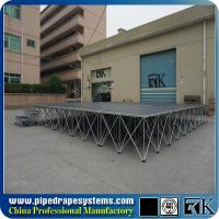 Quality Portable folding mobile stage modular concert stage in Shenzhen for sale