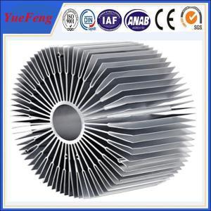 Wholesale Hot sale aluminium led radiator profile, OEM style sunflower led aluminum profiles from china suppliers