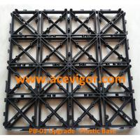Wholesale PB-01 Upgrade Interlocking Plastic Base for decking tiles from china suppliers
