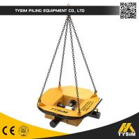 Wholesale TYSIM KP400S concrete pile cropper , high speed square pile cutter machine from china suppliers