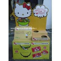 Buy cheap Hello Kitty Cardboard Pallet Display with customized holes / prmotional floor display stand from wholesalers