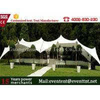 Wholesale Square Solar Second Hand Marquee Tent , Heavy Duty Gazebo Canopy For Outdoor Campin from china suppliers