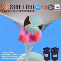 Wholesale Food Grade RTV 2 Liquid Moulding Silicone Rubber for Fondant Mold from china suppliers