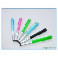 Wholesale advertising plastic stylus pen, low price gift printed phone touch pen from china suppliers