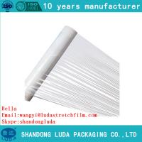 Wholesale china manufacturer high transparent waterproof lldpe stretch film from china suppliers