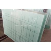 Wholesale 6.38mm - 40.3mm CE and ISO9001 Curtain Wall Tempered Laminated Glass For Home from china suppliers
