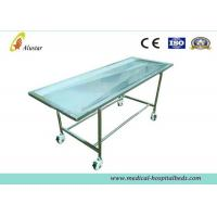 Wholesale Adjustable Body Autopsy Table , Stainless Steel Funeral Products from china suppliers