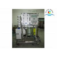 Wholesale 5 Tons / Day Flexible Marine Fresh Water Generator Vacuum Distillation from china suppliers
