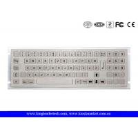 Wholesale NEMA4 79 Keys Industrial Mini Keyboard With Flush Keys And Numeric Keypad from china suppliers