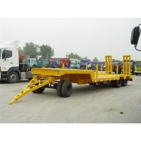 Quality 10m-1+2Axles-low bed Drawbar Trailer for sale
