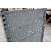 Wholesale Customized Supermarket Display Shelving , Convenience Store Display Racks Double Sided from china suppliers