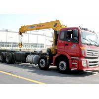 Wholesale Best Sales 14 Ton Telescopic Boom Truck Mounted Crane Driven By Hydraulic, 35 T.M from china suppliers