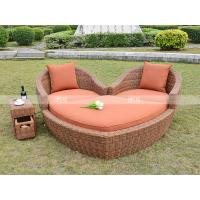 Wholesale CA0324 half round wicker sectional sofa set real luxury outdoor furniture from china suppliers