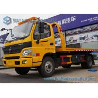 Wholesale 6 Wheeler 4 X 2 5T Flatbed Tow Trucks For Road Block Removal from china suppliers