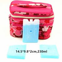 Wholesale FDA Approved 230ml Cool Bag Ice Packs For Lunch Bag Cool Box Blocks from china suppliers