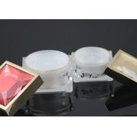 Wholesale 50 Ml Face Cream Jars Wholesale PMMA Edge Gold Empty Cosmetic Jars from china suppliers
