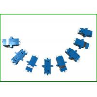 Wholesale Blue SM / MM LC / UPC Duplex Fiber Optic Adaptor For Test Equipment from china suppliers