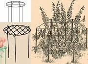 Buy cheap Grow through plant supports super perfect for heavy head flower from wholesalers