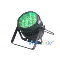 Wholesale Outdoor IP65 Led Par 54x3w For Exhibition , DMX Zoom LED Par Light Liner Dimming from china suppliers
