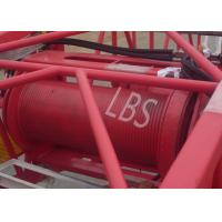 Wholesale Customized Color Lebus Grooved Drum / Hydraulic Winch With Spooling Device from china suppliers