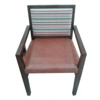 Wholesale wooden frame fabric/PU dining chair DC-0016 from china suppliers