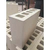 Wholesale Cream Yellow Five Holes Large Hollow Blocks , Hollow Clay Brick Compressive Strength from china suppliers