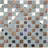 Wholesale Glass Mural Bubble Ceramic Mosaic Tiles For Swimming Pools 300x300mm from china suppliers