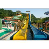 Wholesale OEM Variable Speed Race Slide, Free Fall Slide, Kids / Adults Fiberglass Water Slides from china suppliers
