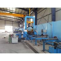 Wholesale 1.5M Stable Hydraulic H Beam Welding Machine  Automatic Centering For Fit Up Beams from china suppliers