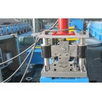 Wholesale 0.5 - 1.0mm Galvanized Steel Metal Shutter Roll Forming Machine With 3 Ton Passive Decoiler from china suppliers