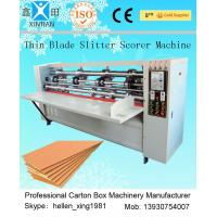 Wholesale Automated Paper Carton Vertical Cutting Machine / Paper Slitter Scorer Machine from china suppliers