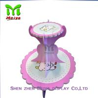 Wholesale Tree Tire  Round Cardboard cupcake display stands / holders from china suppliers