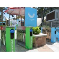 Wholesale Magnetic Ticket Checking Tripod Turnstile Entrance Control , CE Approved from china suppliers