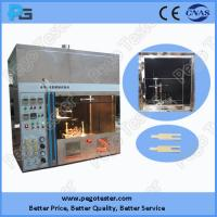 Quality IEC60695-11-3 Horizontal and Vertical Flame Electric Safety Tester for HB and 5V Testing for sale